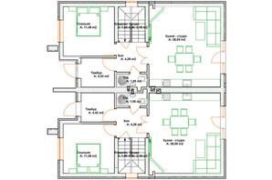 КМ Grand Residence 4, 5: планування 4-кімнатної квартири 108 м²