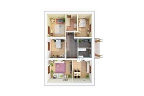 КМ Green city: планування 4-кімнатної квартири 112.27 м²