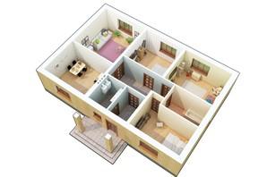 КМ Green city: планування 4-кімнатної квартири 112 м²
