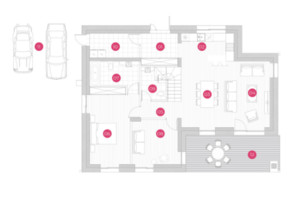 КМ Mulberry Homes: планування 4-кімнатної квартири 175 м²