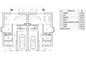 КМ New Cottage Residence 5: планування 5-кімнатної квартири 150 м²