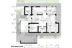 КМ Нова Березівка: планування 5-кімнатної квартири 296 м²