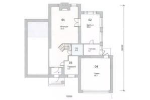 КМ Нова Березівка: планування 4-кімнатної квартири 233 м²