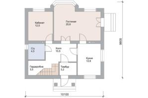 КМ Нова Березівка: планування 4-кімнатної квартири 163 м²