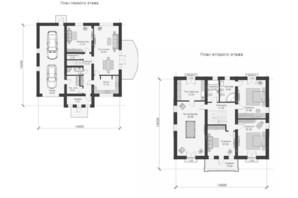 КМ Парк Хаус: планування 7-кімнатної квартири 330 м²
