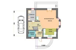 КМ Praud Hills (Прауд Хіллс): планування 4-кімнатної квартири 117.2 м²