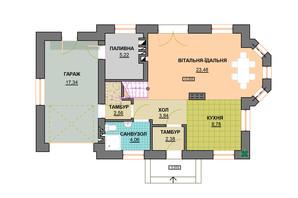 КМ Praud Hills (Прауд Хіллс): планування 4-кімнатної квартири 132.7 м²