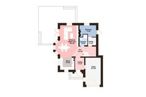 КМ Praud Hills (Прауд Хіллс): планування 4-кімнатної квартири 159 м²