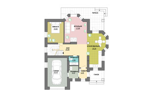 КМ Praud Hills (Прауд Хіллс): планування 5-кімнатної квартири 179 м²