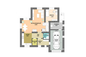 КМ Praud Hills (Прауд Хіллс): планування 5-кімнатної квартири 195 м²