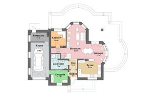 КМ Praud Hills (Прауд Хіллс): планування 5-кімнатної квартири 202.8 м²