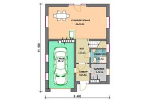 КМ Praud Hills (Прауд Хіллс): планування 4-кімнатної квартири 141 м²