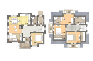 КМ Провесінь: планування 3-кімнатної квартири 156 м²