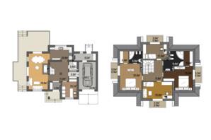 КМ Провесінь: планування 4-кімнатної квартири 192 м²