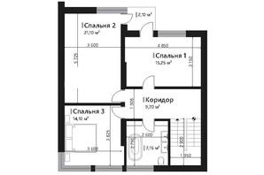 КМ Renaissance: планування 6-кімнатної квартири 178.4 м²