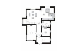КМ River Island: планування 4-кімнатної квартири 303 м²
