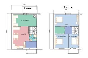 КМ Sun Sity: вільне планування квартири 106 м²