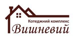 Логотип будівельної компанії КМ Вишневий