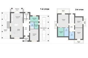 КМ Золоче-Клуб: планування 4-кімнатної квартири 267 м²