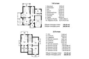 КМ Золоче-Клуб: планування 4-кімнатної квартири 246 м²