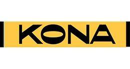 Логотип строительной компании KONA (Кона)