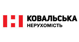 Логотип будівельної компанії КОВАЛЬСЬКА НЕРУХОМІСТЬ