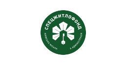 Логотип будівельної компанії КП Спецжитлофонд