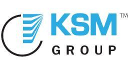 Логотип будівельної компанії KSM-GROUP (КСМ Груп)