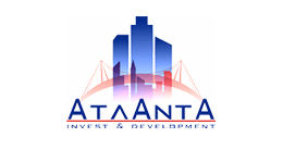 Логотип будівельної компанії Компанія Атланта Інвест енд девелопмент