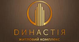 Логотип будівельної компанії Компанія ДИНАСТІЯ В.В.