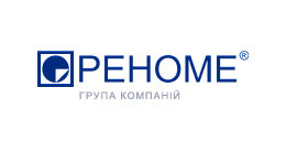 Логотип будівельної компанії Компанія РЕНОМЕ-ЄВРОБУД