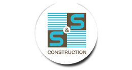Логотип будівельної компанії Компанія S&S Construction