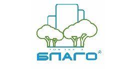 Логотип строительной компании Компания Благо