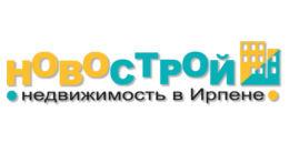 Логотип строительной компании Компания Новострой