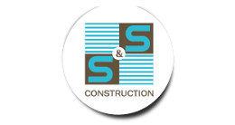 Логотип строительной компании Компания S&S Construction