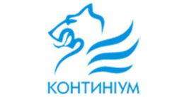 Логотип будівельної компанії Континіум