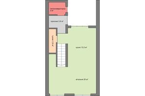 Коттеджный городок Lypynsky 34: планировка 3-комнатной квартиры 148.3 м²
