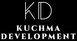 Логотип будівельної компанії Kuchma Development (Кучма Девелопмент)