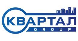 Логотип строительной компании Kvartal Group (Квартал Групп)