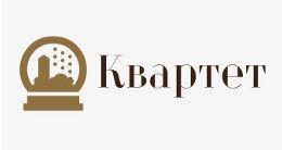 Логотип будівельної компанії Квартет