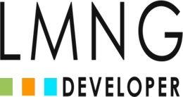 Логотип будівельної компанії LMNG Developer (ЛМНГ Девелопер)