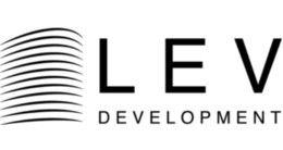 Логотип будівельної компанії Lev Development