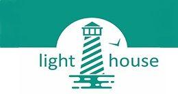 Логотип будівельної компанії LightHouse