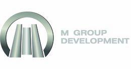 Логотип строительной компании M Group Development