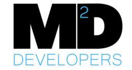 Логотип будівельної компанії M2Developers