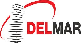 Логотип будівельної компанії МГК Delmar