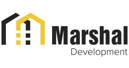 Логотип строительной компании Marshal Development
