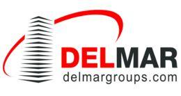 Логотип строительной компании Международная группа строительных компаний DELMAR