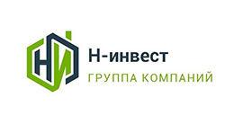 Логотип будівельної компанії Н-Інвест