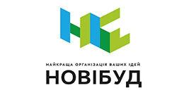 Логотип будівельної компанії НОВІ БУД